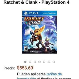Amazon MX: Ratchet And Clank PS4 a $553