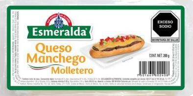 La Comer, Queso Manchego Esmeralda Molletero 200g