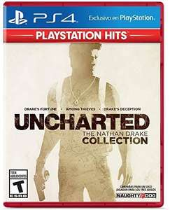 Walmart: Uncharted The Nathan Drake Collection PS4