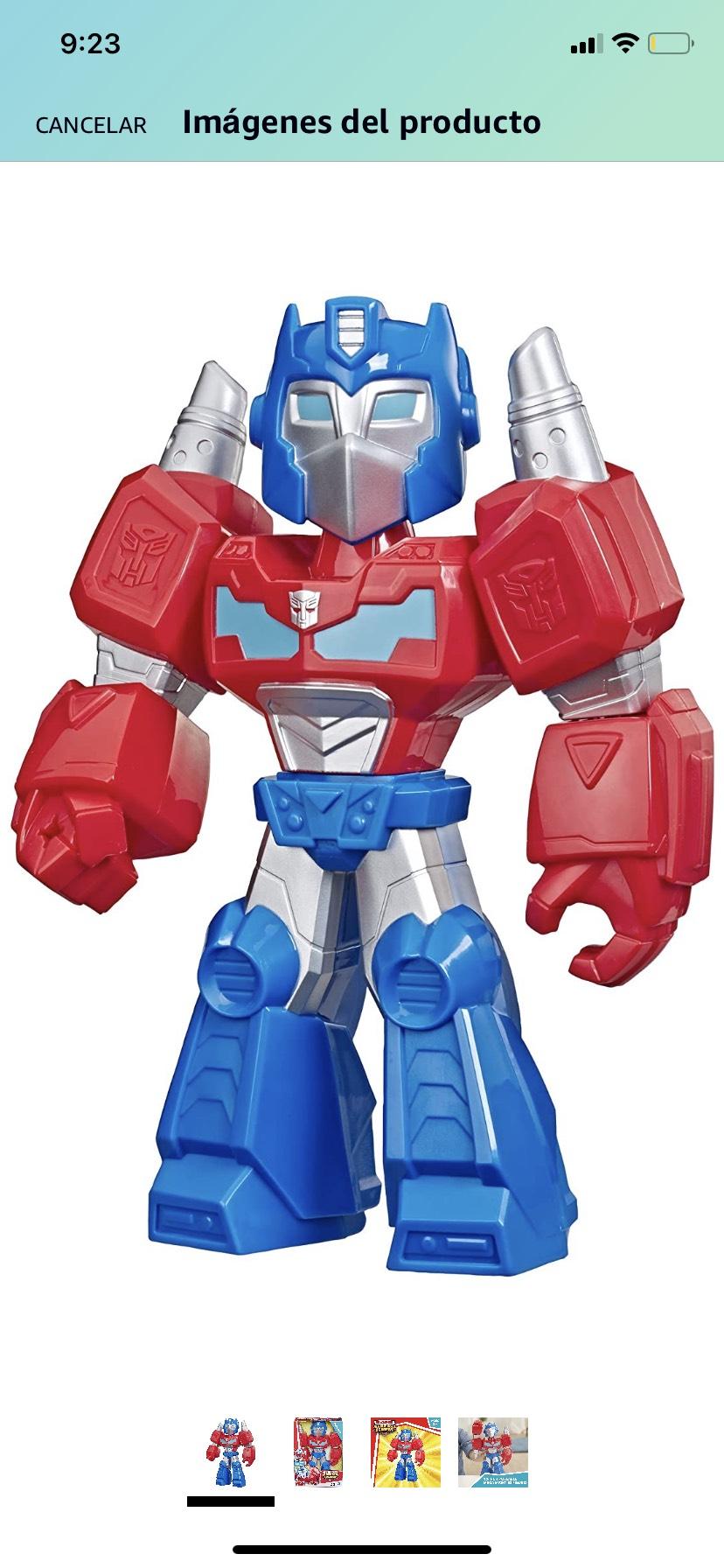 Amazon: Playskool Heroes Transformers Robot Mega Optimus Prime
