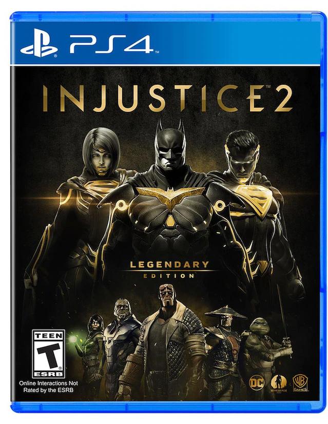 Liverpool: Injustice 2 Legendary Edtion para PlayStation 4 Juego Físico