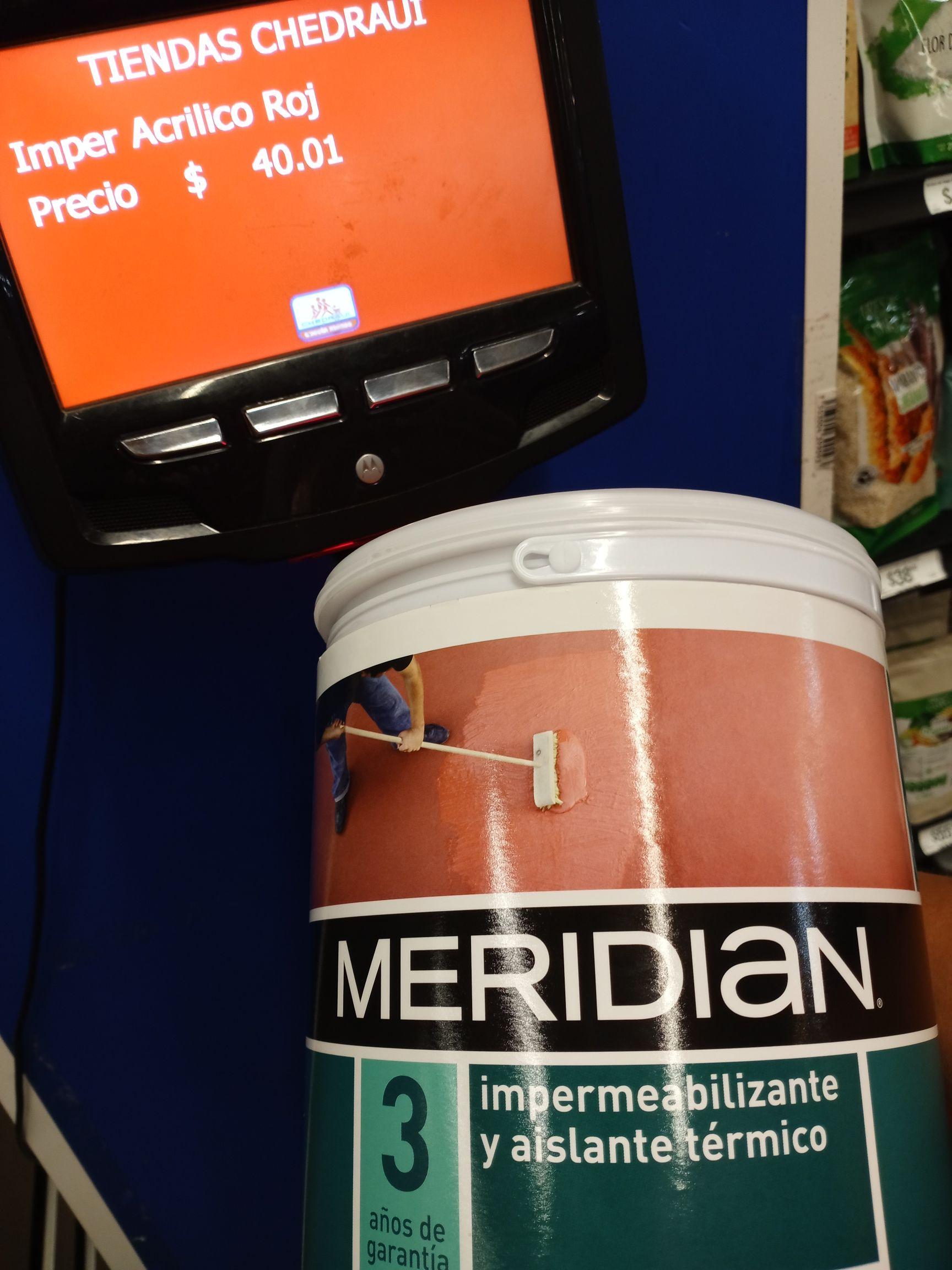 Chedraui: Impermeablilizante en $40.01 frijoles verde valle $9.01 y jabón $5.01