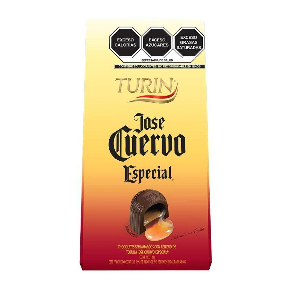 Walmart: Chocolates Turín José cuervo 120g