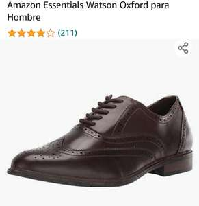 Amazon: Zapatos Amazon Essentials Watson Oxford para Hombre