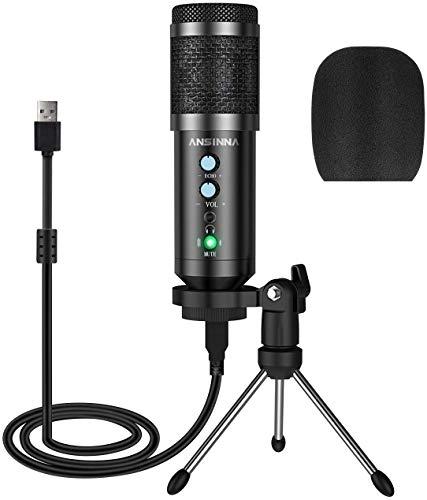 Amazon: Microfono para PC Plug and Play USB