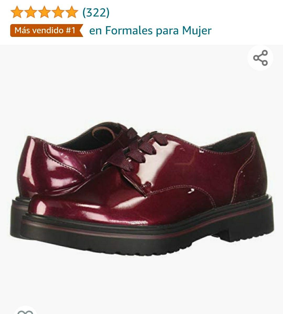 Amazon: Flexi GEA 32901 Zapatos de cordones oxford para Mujer