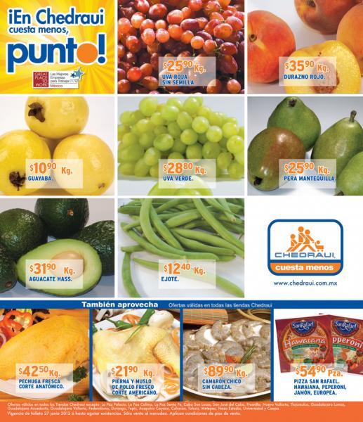 Miércoles de frutas y verduras Chedraui junio 27: cebolla y melón a $5.90 y más