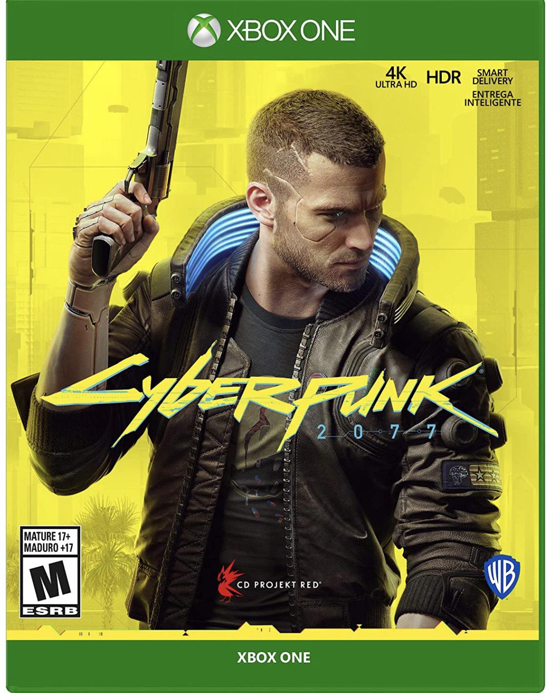 Amazon: Cyberpunk 2077 - Xbox One - Standard Edition - Standard Edition - Xbox One