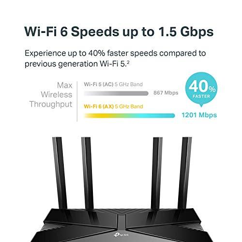 Amazon: TP-Link Archer AX10 Router WI-FI 6, Funciona con Alexa