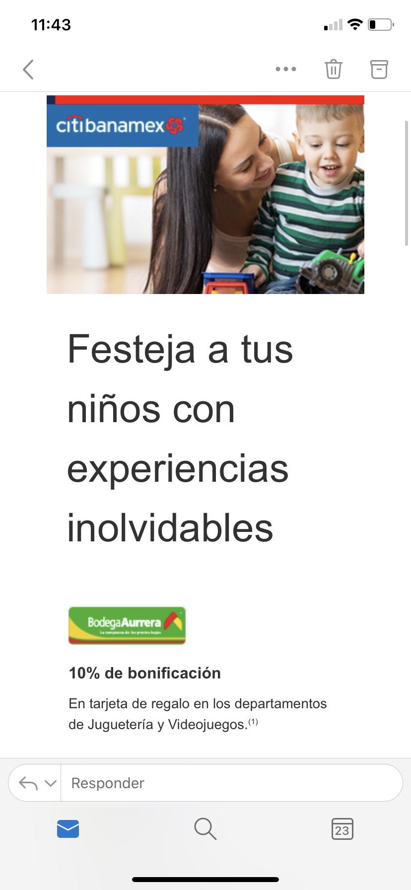 Citibanamex: Promociones Día del Niño