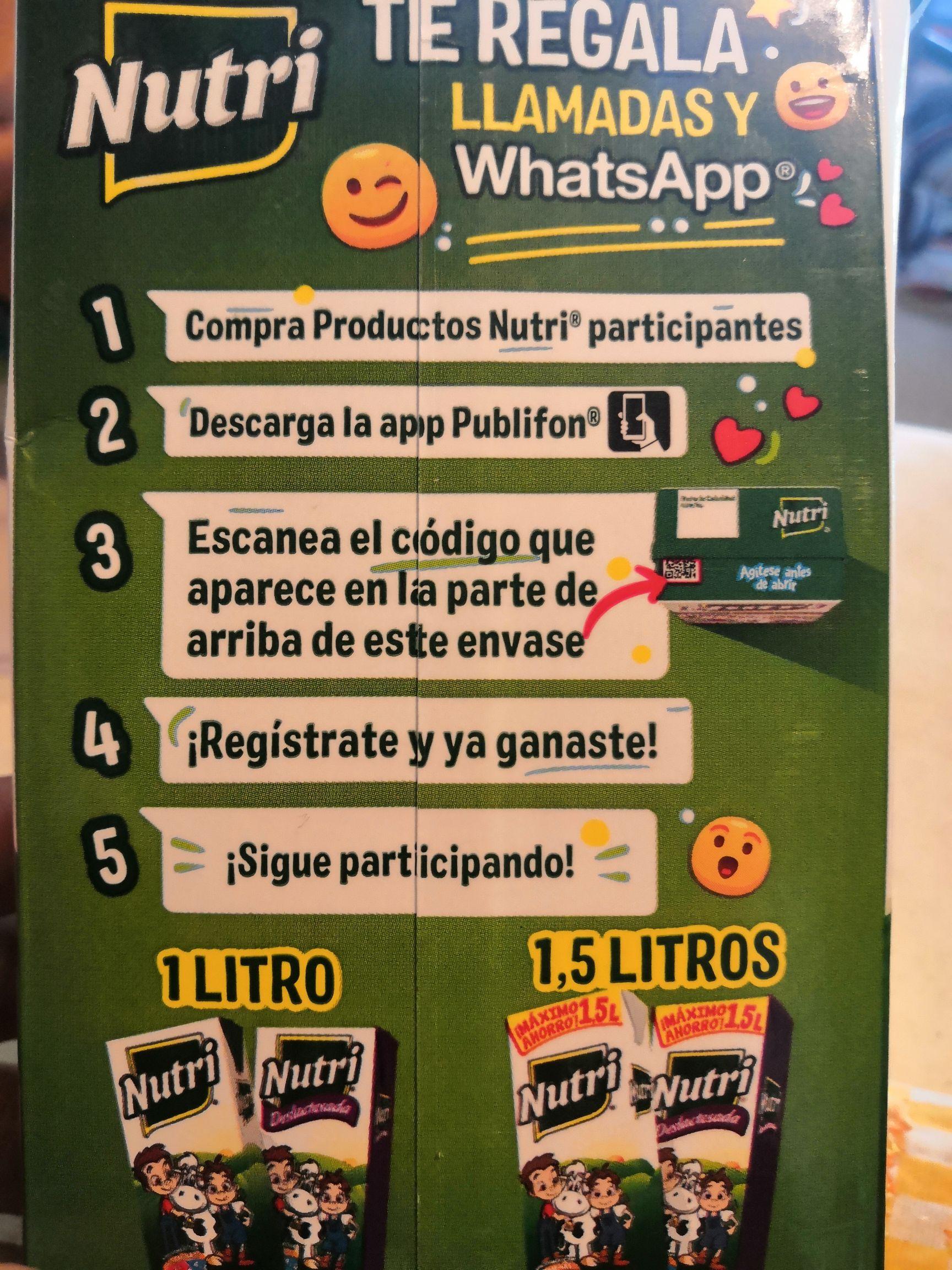 Llamadas o whatsapp gratis con nutri ( 8 o 12 horas)