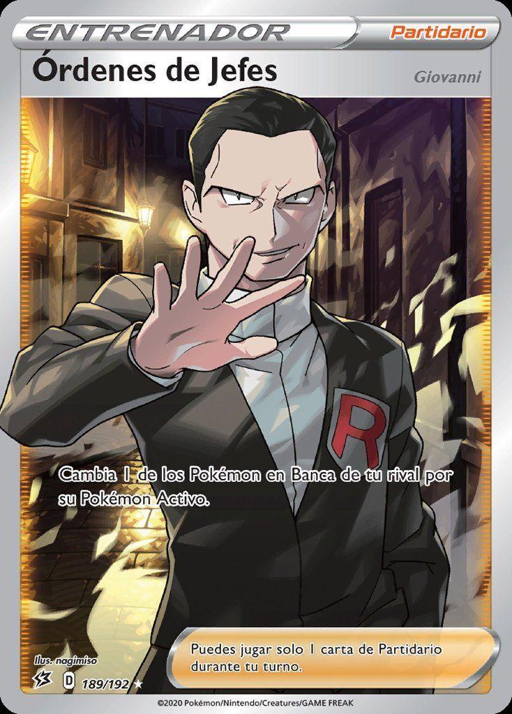 Giovanni FA GRATIS para Pokémon TCG