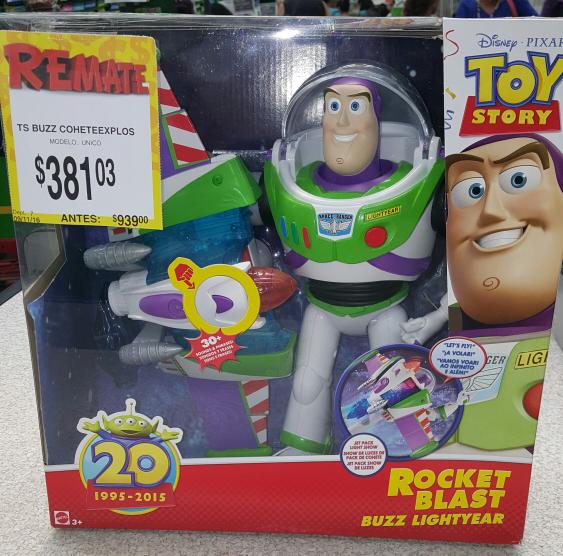 Bodega Aurrerá: Buzz Lightyear Rocket Blast a $381.03