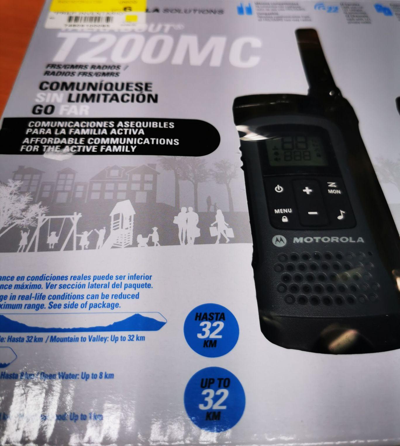2 Radios Motorola walmart