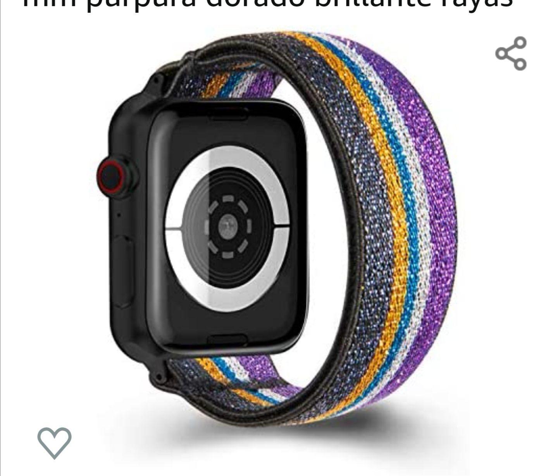 Amazon: Correas para Apple Watch
