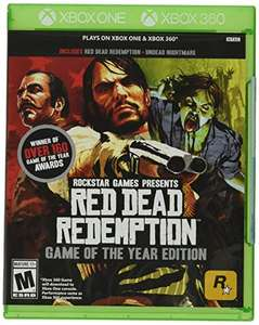 Amazon: Red Dead Redemption GOTY Xbox 360/One