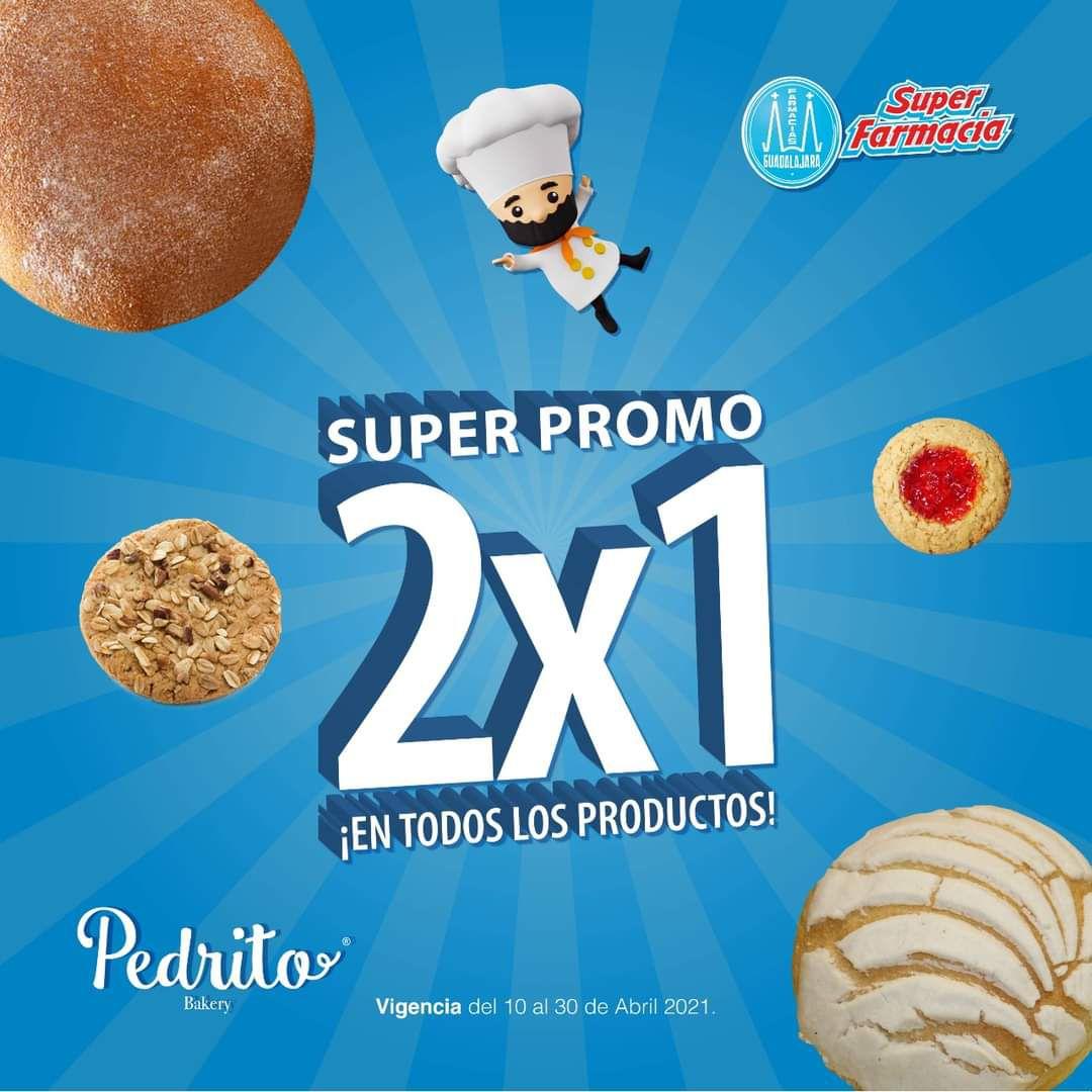 Farmacias Guadalajara: 2x1 en productos Pedrito (Recomendadas las pedrilinas)