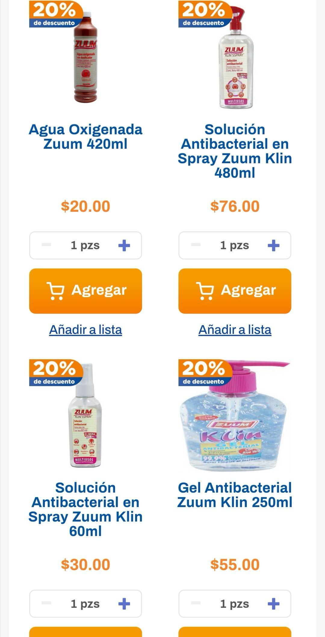 Chedraui: 20% de descuento en productos Zuum seleccionados