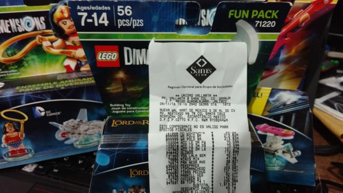 Sam's Club: lego dimensions fun pack $70 y level pack $100