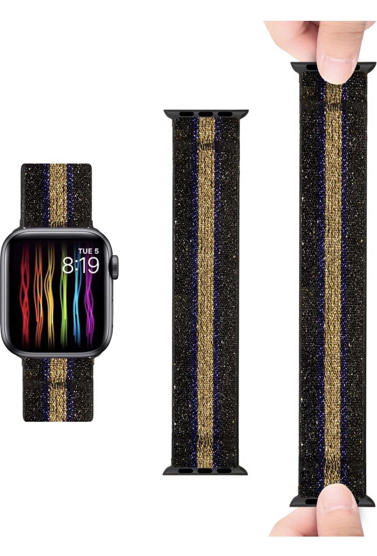 Amazon: ZEROFIRE - Correa elástica compatible con Apple Watch