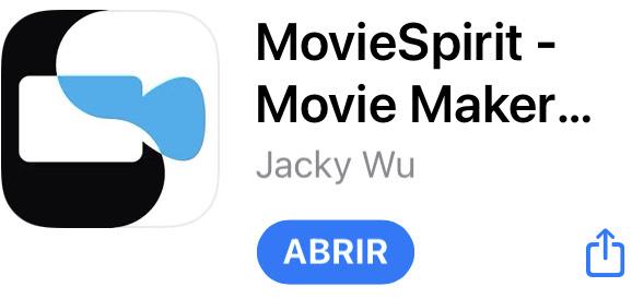 AppStore: App de edición de videos MovieSprit
