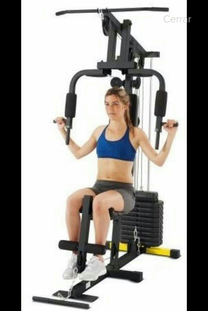 Walmart Nichupte: Gimnasio Athletic Works 1 estacion a $1,046