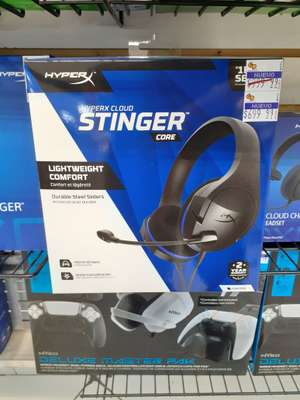 Gamers: Audifonos Hyper X Stinger Core
