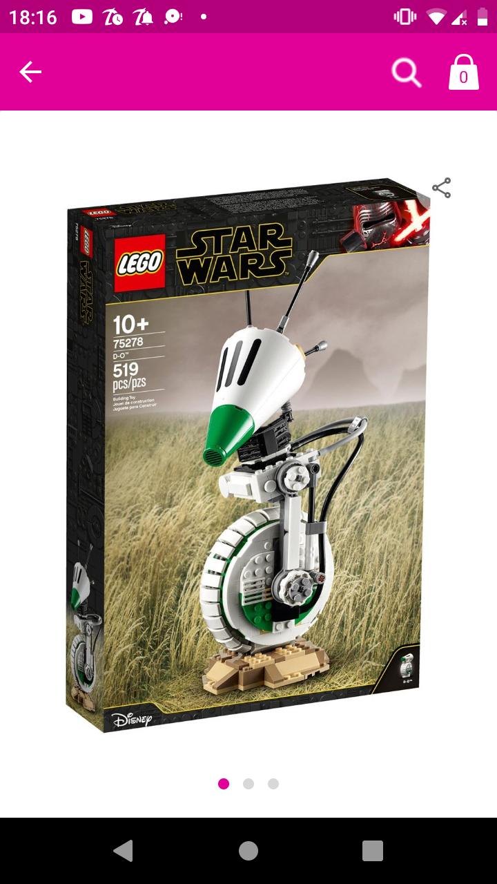 Liverpool: Set Lego Star Wars DO