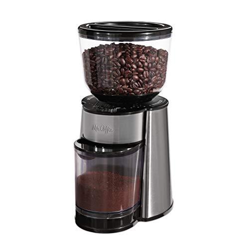 Amazon Mx: Molino de Cafe Mr.Coffee BVMC-BMH23 Automatic Burr Mill Grinder (al agregar al carrito)