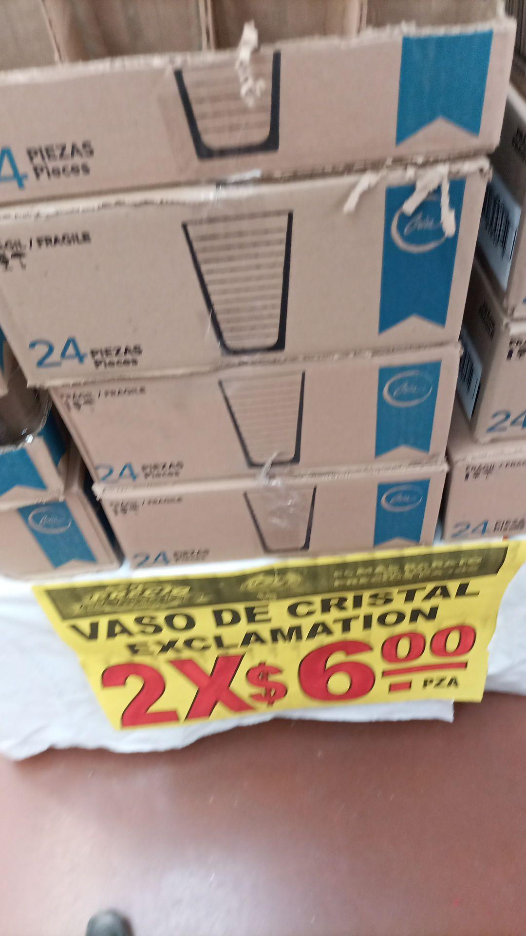 Soriana: Vasos Crisa 2x$6