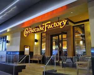DiDi Food: 30% menos en The Cheesecake Factory