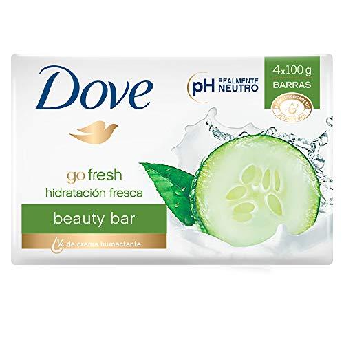 Amazon: Jabón Dove Go Fresh 4 x 100g (Más barato con Planea y Cancela)