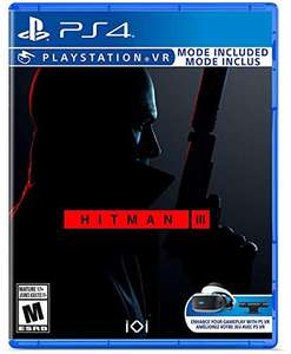 Amazon: Hitman 3 - Standard Edition - Playstation 4