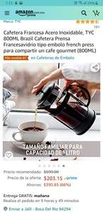 Amazon Cafetera francesa