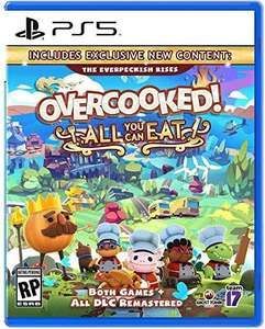 Amazon: Oveercooked All Can You Eat - PS5/PS4 - Xbox One $901