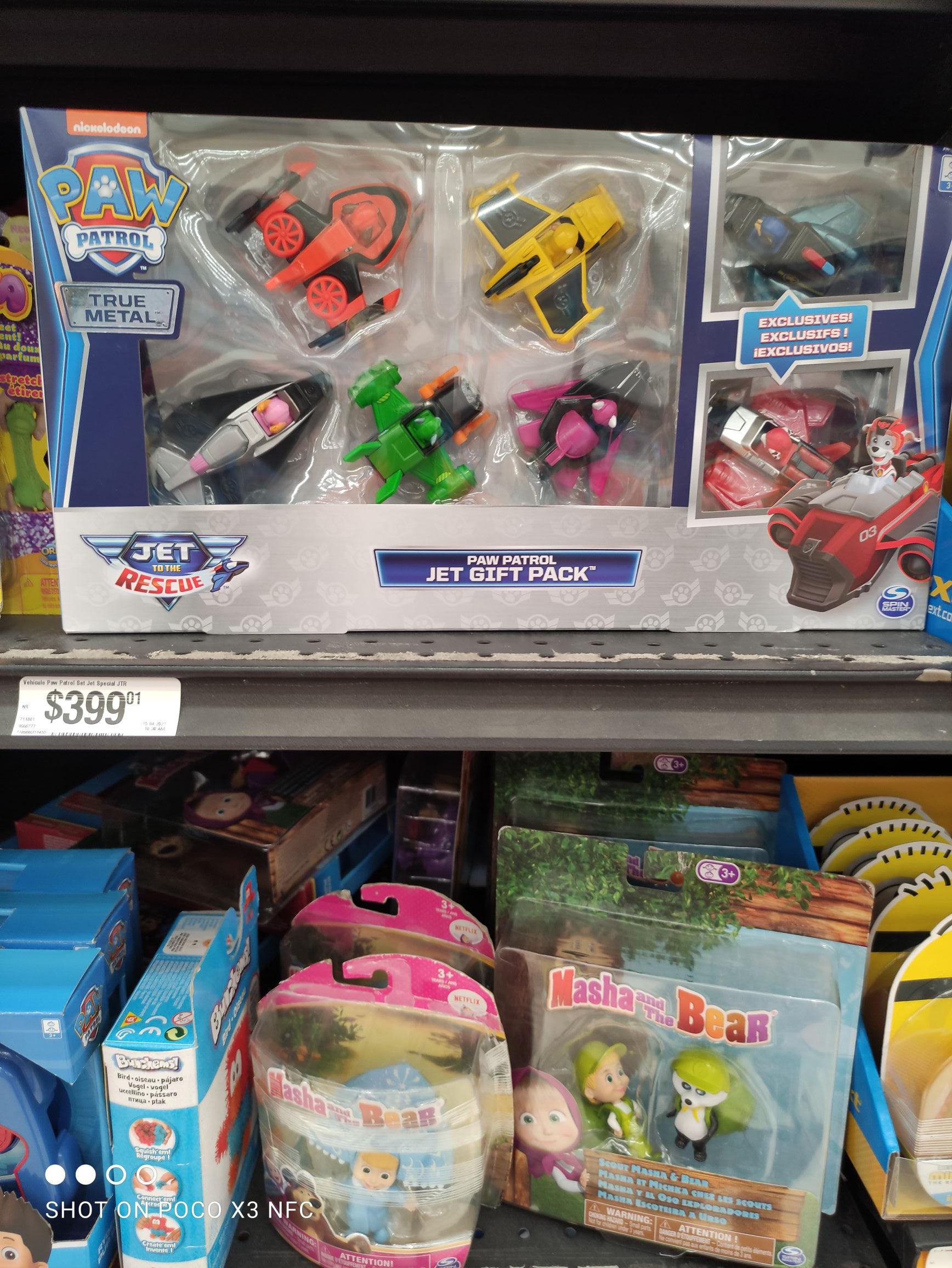 Chedraui: Paw Patrol Jet Gift Pack
