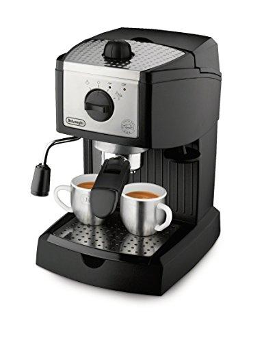 Amazon: Delonghi EC155 Cafetera Tipo Barista Acero, color Negro