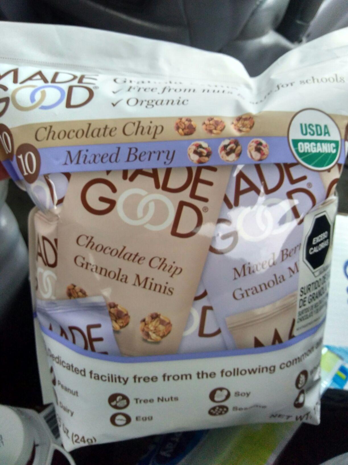 Costco: Snack bolitas de granola
