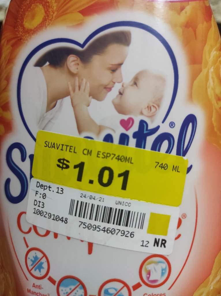 Walmart Suavitel Complete a solo $1