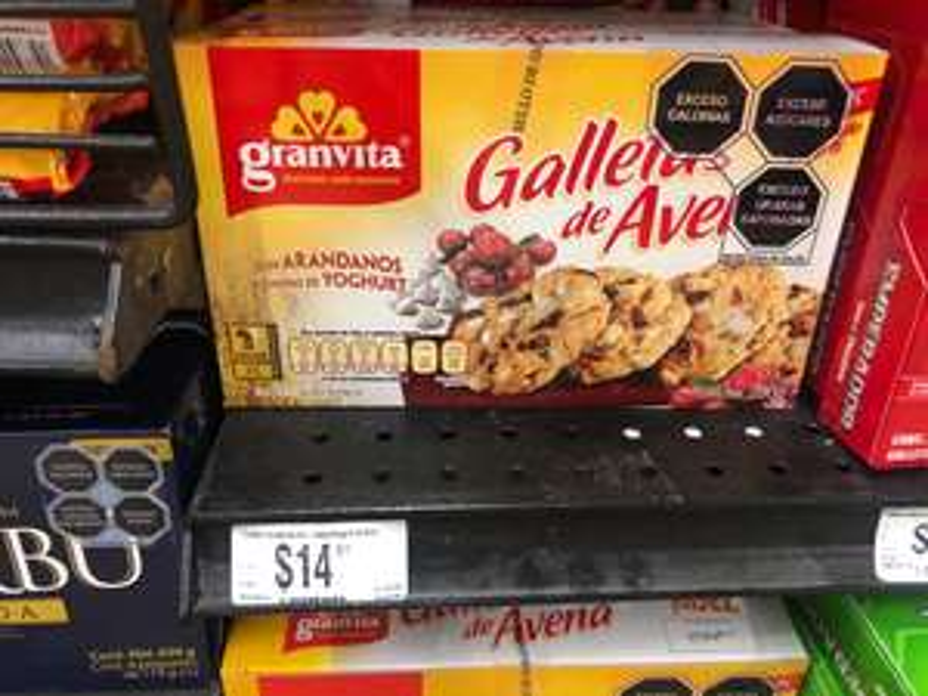 Chedraui, Galletas de avena a 14.01, cuchara para espagueti a 13.01