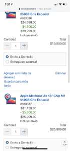 "Costco: MacBook Air 13"" 512 GB M1"