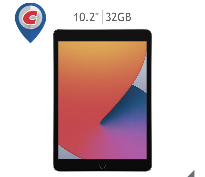 """Costco: Apple iPad 8th generación, 10.2"""" Wi-Fi 32GB Gris Espacial"""