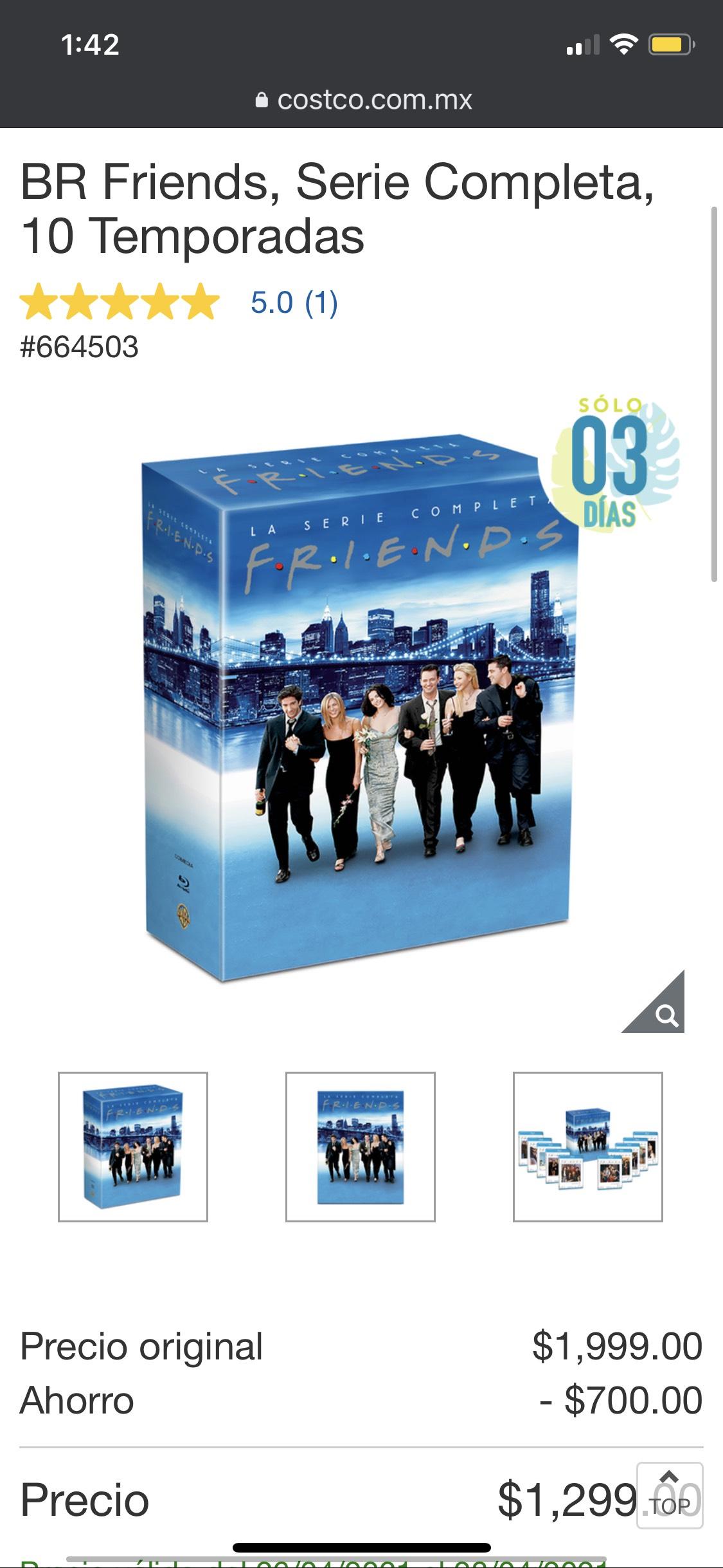 Costco: BR Friends, Serie Completa, 10 Temporadas