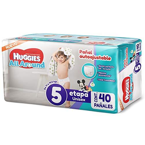 Amazon: Pañales Huggies all-around etapa 5