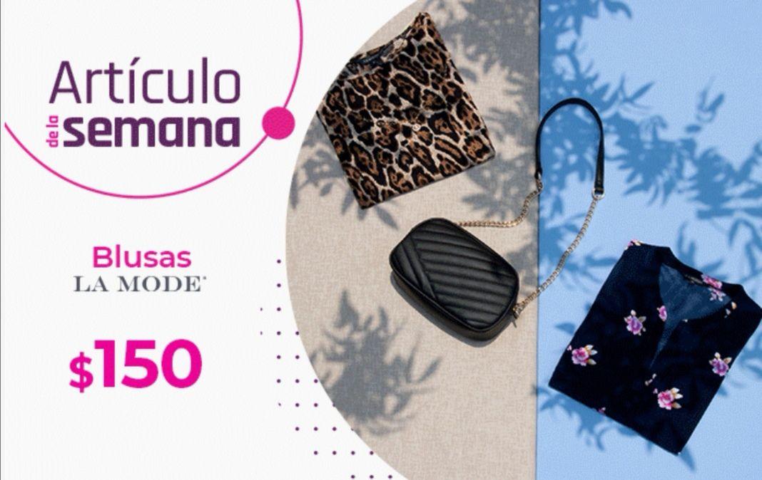 Suburbia: Artículo de la Semana del Lunes 26 Abril al Domingo 2 Mayo: Blusa La Mode $150 (aplica descuento 25%)