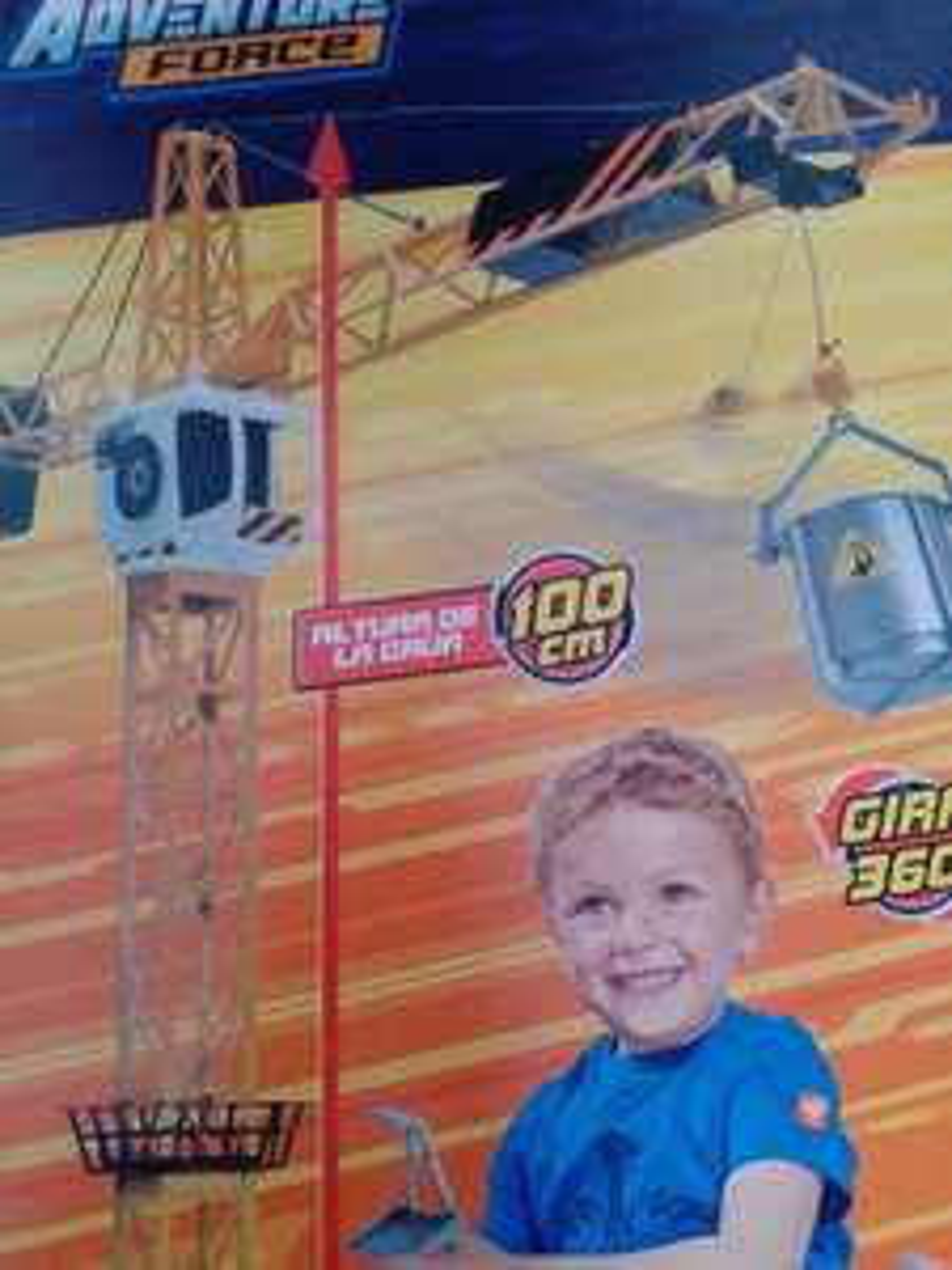 Bodega Aurrerá: Grúa de juguete