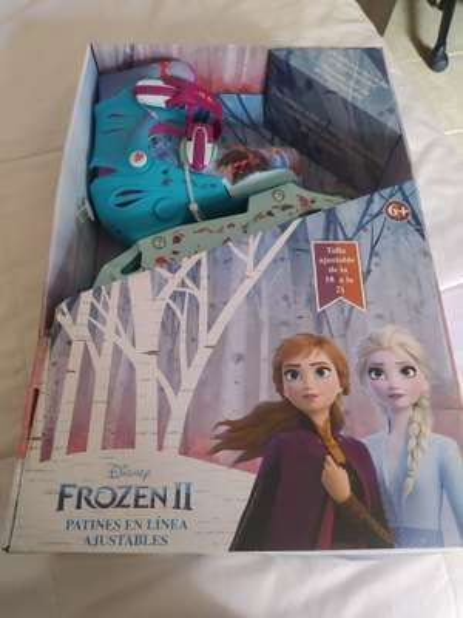 Chedraui Coapa: Patines de Frozen en 63 pesos