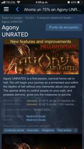 Steam: Agony UNRATED