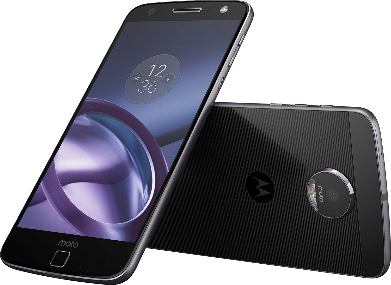 """Amazon preventa: Moto Z Smartphone XT1650-03, 5.5"""", 64GB, Desbloqueado blanco y negra con MODS"""