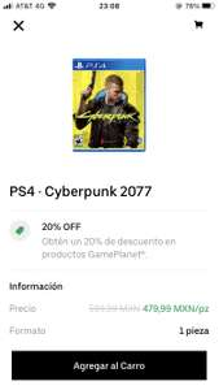 Cornershop: Cyberpunk PS4 Físico Gameplanet